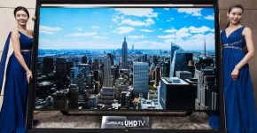 Samsung's 110-Inch Ultra HDTV