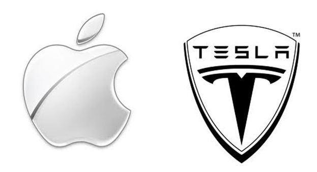 tesla apple