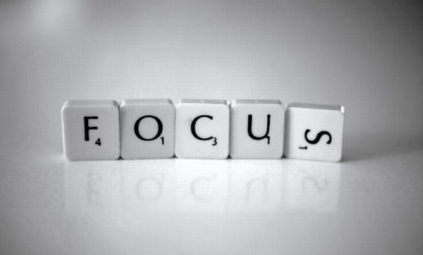 Focus at work