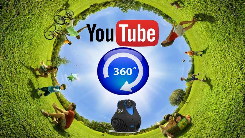 youtube 360 degree video