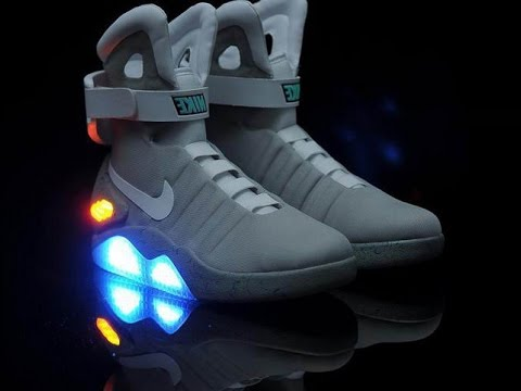 Nike has unveiled its first shoe that ties itself 8da192e96