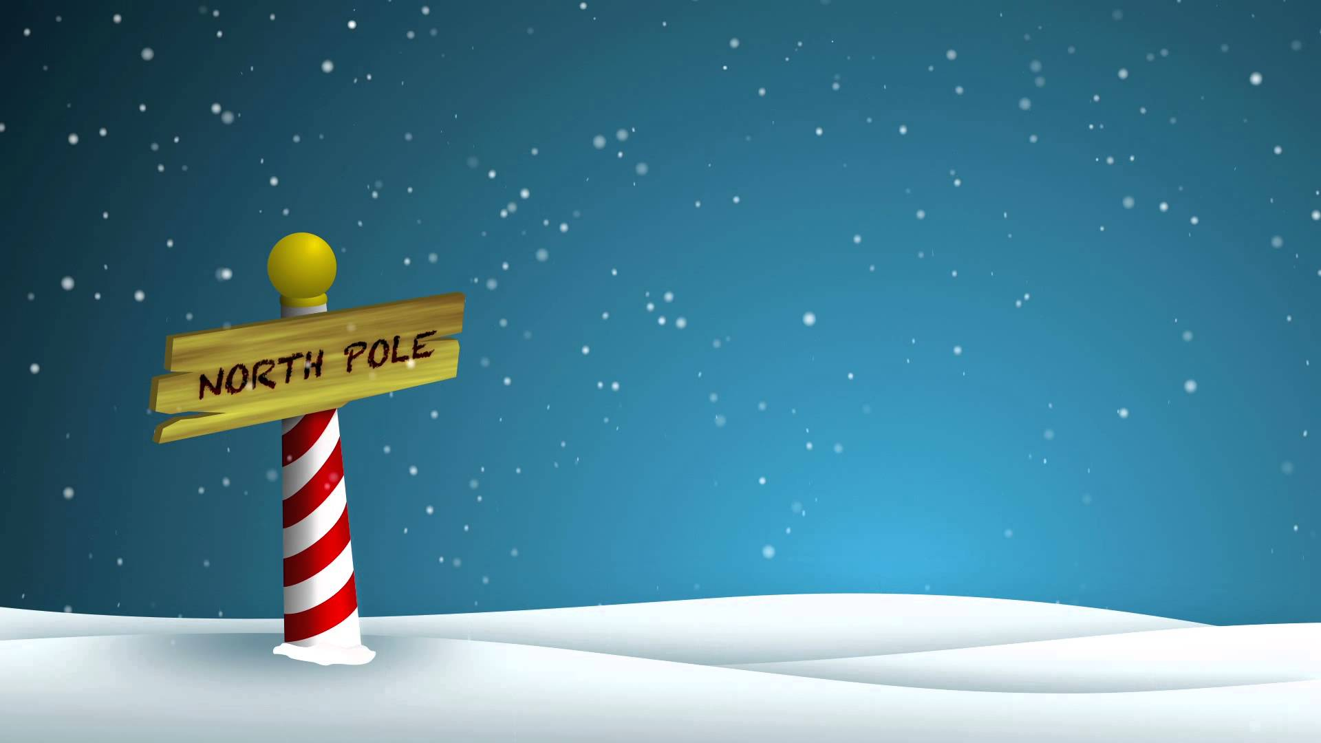 North Pole Hits Melting Point In Christmas