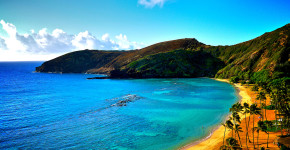 Hawaii beautiful beach