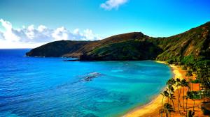 Hawaii beautiful beach